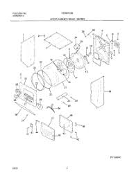 parts for frigidaire fex831cs0 washer dryer combo