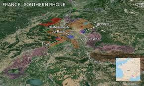 Southern France Map Map France Wine Regions U2014 Tenzing