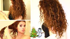 why is my hair curly in front and straight in back my curly hair routine for dry hair youtube