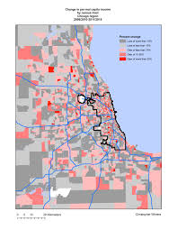 Census Tract Maps The Recent Geography Of Gentrification In Chicago Liberal Landscape