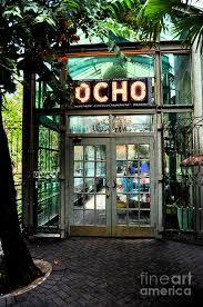 Ink San Antonio Entrance To Trendy Ocho Restaurant In San Antonio Ink Outlines