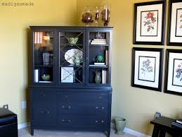 Ballard Bookshelves Re Styling My China Cabinet Posing As A Library Cabinet