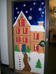 officeristmas door decorating doors images about on