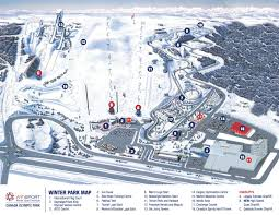 Calgary Alberta Canada Map by Canada Olympic Park Trail Map