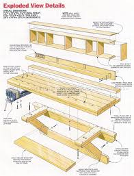 Woodworking Bench Plans by 2118 Wall Mounted Workbench Plans Workshop Solutions