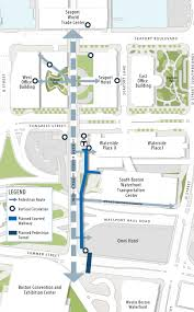 Silver Line Boston Map by Massport Planned This Tunnel For A Rainy Day Or A Cold One The