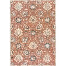 gold rose pattern 8319 dusty rose area rug wayfair