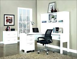 Work Desks For Office Modern Corner Work Desk With Shaped Office U Hutch Furniture