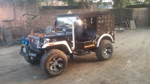 punjab jeep jai durga jeep bazaar open modified jeeps