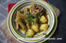 comment cuisiner les cardons tajine aux cardons tajine bel khorchef les joyaux de sherazade