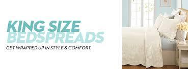 King Size White Coverlet King Size Bedspreads Macy U0027s