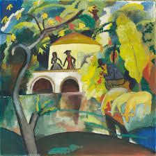 german expressionism painter august macke