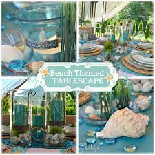 themed tablescapes dining delight tablescape in the cabana