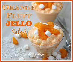jello salad recipes for thanksgiving kitchen simmer orange fluff jello salad bloggerclue
