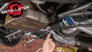 1966 mustang power steering mustang total products rack pinion power steering
