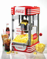 rkp630coke coca cola 2 5 oz kettle popcorn maker nostalgia