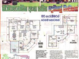 modern architecture house floor plans new home plans in sri lanka house decorations