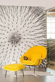yellow saarinen womb chair simple bold sasha and lucca