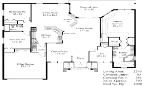 House Plans Country Single Level House Plans Open Floor Plan One Cool 3 Bedroom With