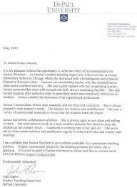 reference letter for kindergarten student teacher cover letter