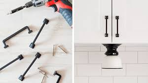 Install Cabinet Hardware How To Install Cabinet Hardware