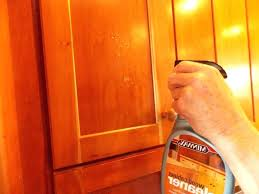 how to clean greasy wooden kitchen cabinets excellent how to clean greasy kitchen cabinets image titled clean