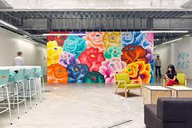 Facebook Office Interior Design Facebook Outdoor Space Custom Spaces