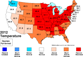 us weather map by month march 2012 becomes warmest march on record