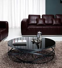 coffee table excellent round black glass dfs with storage home