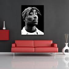 cool 80 tupac wall art decorating design of aliexpress buy 2016 tupac wall art tupac wall art 0