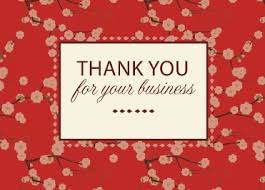 business greeting card helps show gratitude for your clients