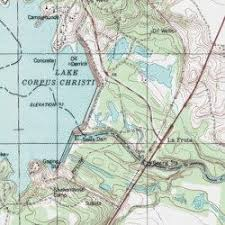 map of corpus christi lake corpus christi san patricio county reservoir mathis