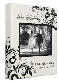 White Wedding Album I Absolutely Love This Black And White Wedding Album Album