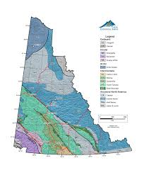 Northern Canada Map Bedrock Terrane Map Energy Mines And Resources Government Of