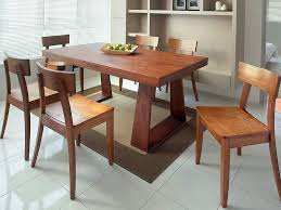 Simple Design And Set Up Of Wooden Dining Table And  Chairs For - Best wooden dining table designs