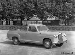 mercedes pickup x class not the first mercedes benz pick up in history mercedesblog