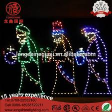 outdoor battery xmas lights led large nativity 3 wise men white christmas lights for holiday