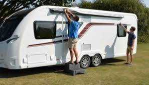 Caravan Pull Out Awnings Caravansplus How To Fit A Roll Out Awning