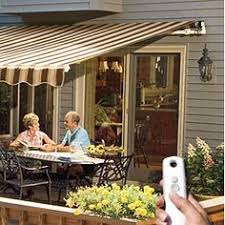 Aristocrat Awnings Reviews Decks With Awnings Retractable Awnings Add Space Without The