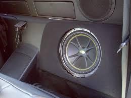 nissan 350z back seat enclosure for factory sub location nissan 350z forum nissan