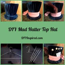 diy mad hatter top hat diy inspired