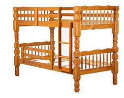 Solid Pine Bunk Beds 100 Solid Wood Dakota Bunk Bed By