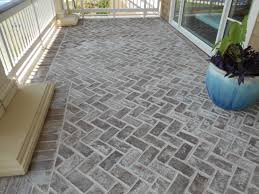 Brick Paver Patterns For Patios by Our Normal Savannah Grey Oversize Genuine Handmade Brick Used As