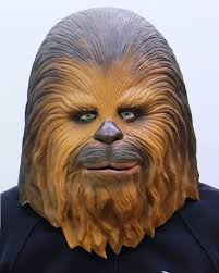 spirit halloween chewbacca chewbacca of star wars full face rubber mask made in japan amazon