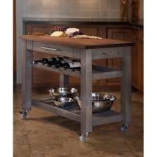 kitchen mobile islands martins homewares metro mobile kitchen island with solid walnut top