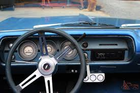 chevelle convertible metallic blue paint nice interior