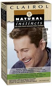 Hair Color Light Brown Amazon Com Clairol Natural Instincts For Men Hair Color Light
