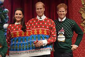 family christmas royal family wearing christmas sweaters wait what bored panda