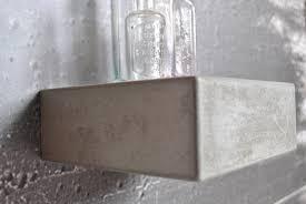 concrete floating shelf floating shelves industrial