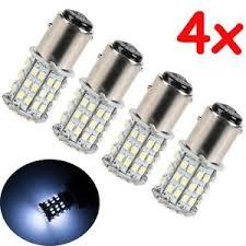 car brake light bulb 4x bay15d 1157 white car tail stop brake light super bright 64 smd